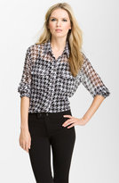 'Signature' Houndstooth Shirt