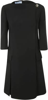 Prada Cady Crepe Dress