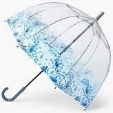 Fulton Birdcage Archive Umbrella, Blue