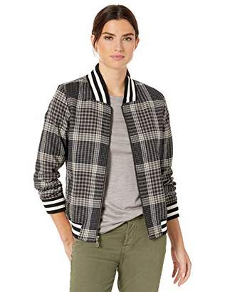 Pendleton Women's Zip Front Plaid Bomber Jacket