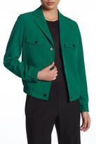 Anne Klein Eisenhower Snap Jacket