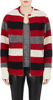 Etoile Isabel Marant Women's Striped Fimo Jacket-RED