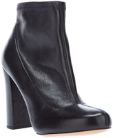 Chloé block heel ankle boot