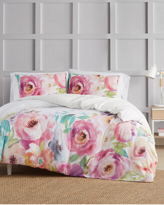 Christian Siriano Ny Spring Flowers 3Pc Duvet Cover Set
