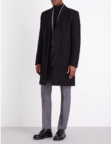 Paul Smith Padded single-breasted wool coat