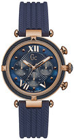 Gc Ladies' CableChic Blue Silicone Strap Watch