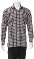 Tom Ford Check Print Shirt