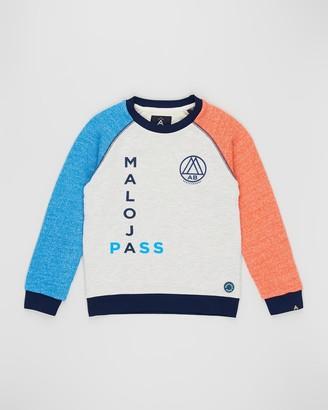 Scotch Shrunk Crew Neck Mix and Match Sweatshirt - Teens