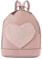Candies Candie's® Geri Fuzzy Heart Mini Dome Backpack