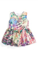 Halabaloo Infant Girl's Tie Dye Eyelet Dress
