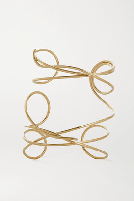 COMPLETEDWORKS Meditations Of A Fisherman Gold Vermeil Cuff