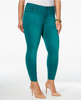 Celebrity Pink Trendy Plus Size Infinite Stretch Colored Wash Jeans