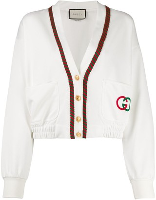 Gucci Cropped Sports Style Jacket