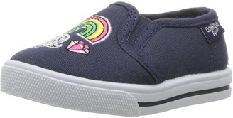 Osh Kosh Girls Patchy Slip-On Sneaker