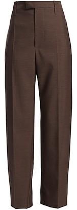 Bottega Veneta High-Waist Wide-Leg Trousers