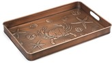 The Well Appointed House Multi-Purpose Boot Tray with Seashore Design