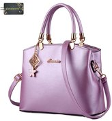 Donalworld Woen Bow Vintage Top Handle Tote Satchel Handbags