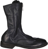 Thumbnail for your product : Guidi 310 Front Zipped Army Boots