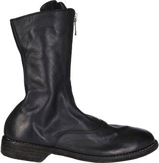Guidi 310 Front Zipped Army Boots