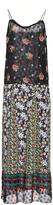 Anna Sui Bouquet & Dots Metallic Silk Jacquard Slip Dress