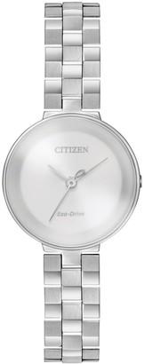 Citizen Women's Eco-Drive Quartz Stainless Steel Casual Watch, 25mm