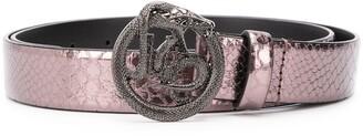 Just Cavalli serpent buckle belt