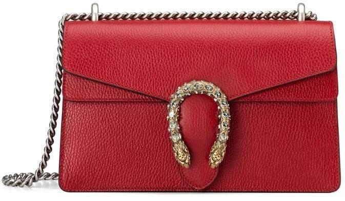028ed762d5fcf8 Gucci Red Chain Strap Shoulder Bags - ShopStyle