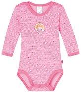 Schiesser Baby Girls Bodysuit - Red - 3-6 Months