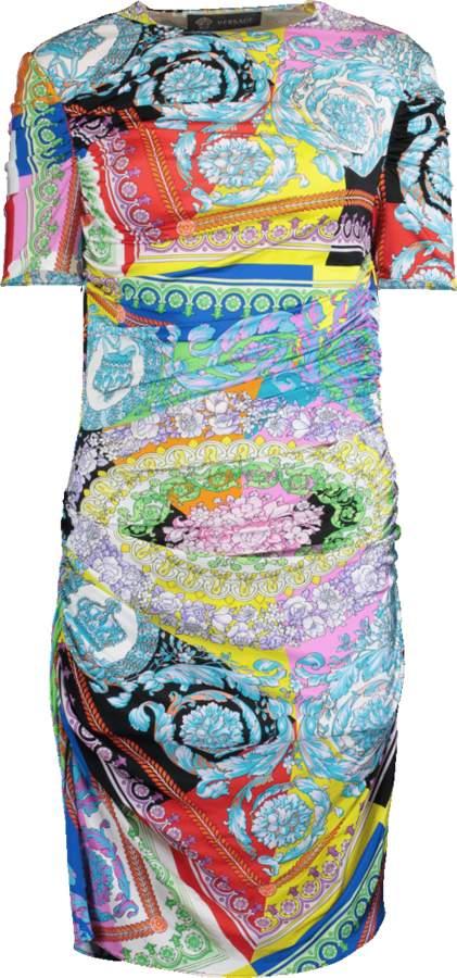 1442c911861b Versace Jersey Dresses - ShopStyle