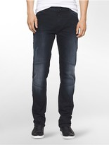 Calvin Klein Slim Straight Terni Moto Jeans