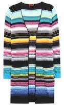 Missoni Striped cotton-blend cardigan