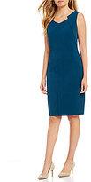 Preston & York Leona Stretch Crepe Dress