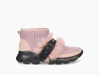 UGG Fluff Punk Ankle Boot
