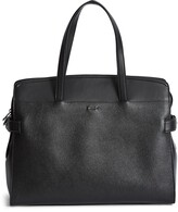 Reiss Harley Leather Satchel