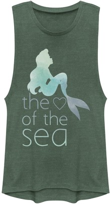 "Disney Juniors' Disney's The Little Mermaid ""Heart of the Sea"" Muscle Tank Top"
