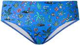 Paul Smith palm tree bikini bottoms - women - Polyamide/Spandex/Elastane - S