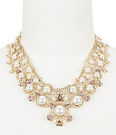 Givenchy Faux-Pearl Drama Collar Necklace