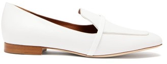 Malone Souliers Jane Leather Loafers - Womens - White