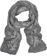 Adam Cable-knit chunky scarf