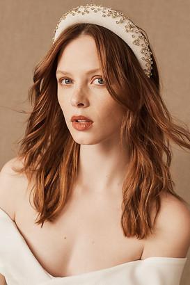 Lele Sadoughi Bonham Headband By in White Size ALL