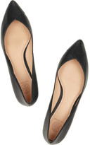 Tory Burch Nicki point-toe leather flats
