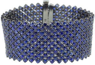Bayco Wide Sapphire Bracelet