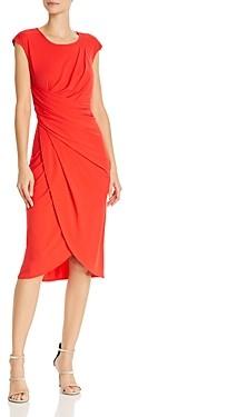 Nanette Lepore Nanette nanette Draped Jersey Dress