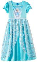 Disney Disney's Frozen Girls 4-10 Fantasy Dress-Up Nightgown