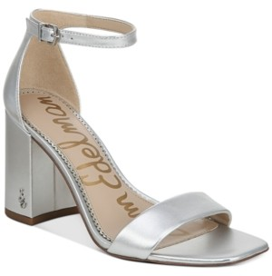 Sam Edelman Daniella Two-Piece Block-Heel Sandals Women's Shoes