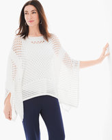 Chico's Crochet Poncho Sweater
