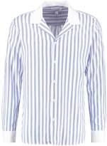 Soulland BAI Shirt stripe blue