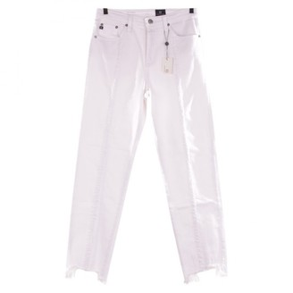 AG Jeans White Cotton - elasthane Jeans for Women