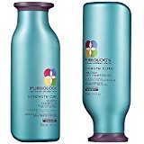 Pureology Strength Cure Shampoo and Conditioner, 8.5 oz (Pack of 2)