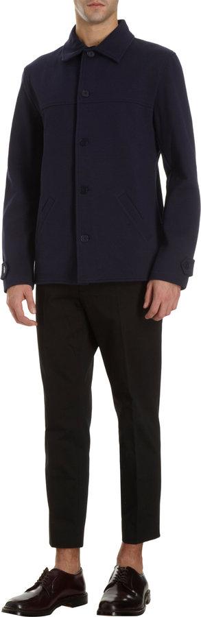 Barneys New York Agnès B. X Shirt Collar Jacket